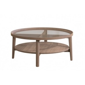 Tambour Grey Holcot Coffee Table