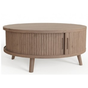 Tambour Grey Coffee Table
