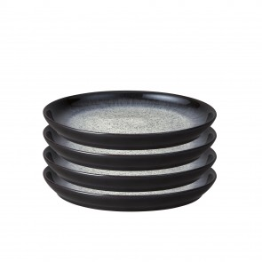 Denby Halo 4pce Small Coupe Plate Set