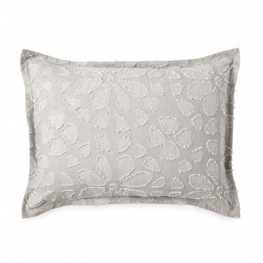 Clipped Floral Natural Pillowcase