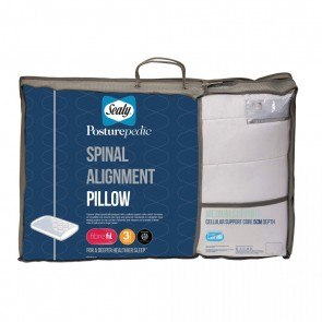 Sealy 5cm Spinal Alignment Pillow - Med