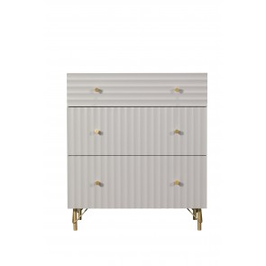 Oyster 3 Drawer Chest