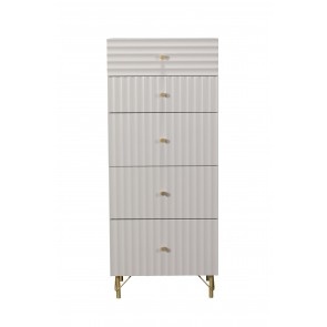 Oyster 5 Drawer Tall Chest