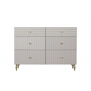 Oyster 6 Drawer Wide Chest