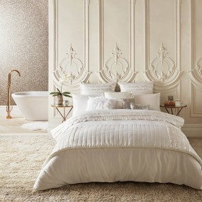 Kylie At Home Bardot Oyster Duvet Cover