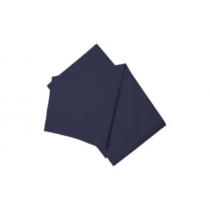 Cotton Polyester Flat Sheet - Navy