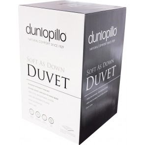 Dunlopillo Soft As Down 13.5 Tog Duvet