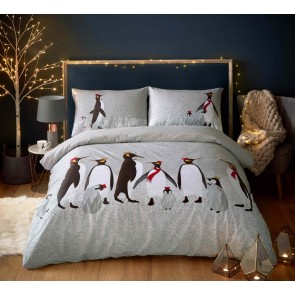 Christmas Penguin Duvet Set