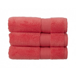 Christy Carnival Towels Coral