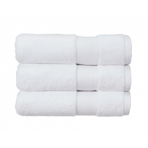 Christy Carnival Towels White