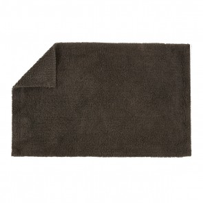 Christy Reversible Bath Rugs - Graphite