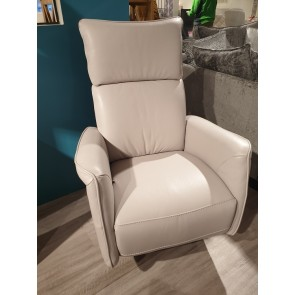 Alice Swivel Chair - Leather
