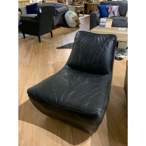 Bushey Leather Accent Chair