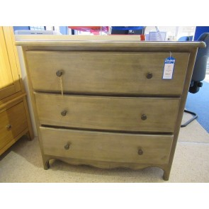 Camargue 3 Drawer Chest