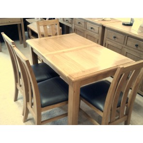 Huxley 120cm dining table & 4 chairs