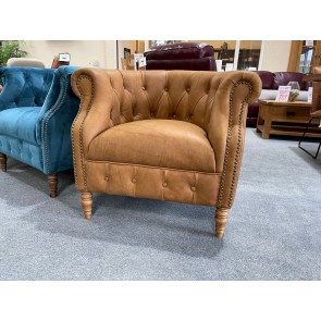 Jude Accent Chair - Tan
