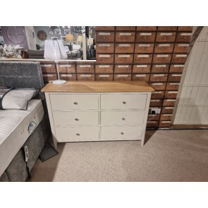 Scandic Painted 6 Drawer Chest