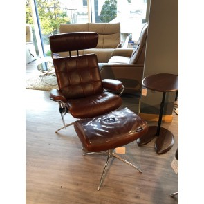 Stressless London Chair & Stool